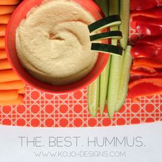 the best hummus recipe- brought straight from the middleeast