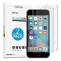 OMOTON iPhone 6S 6 Screen Protector 2 Pack  9H Hardness Premium Clarity ScratchResistant Tempered Glass Screen Protector for Apple iPhone 6S  6 47 Inch >>> Check this awesome product by going to the affiliate link Amazon.com at the image.