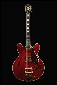 Gibson ES-355 - Cherry Red. Definitely will eventually get one of these.