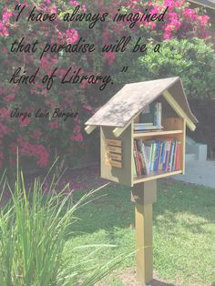 www.littlefreelibrary.org Little Free Libraries, Little Library, Quotes For Book Lovers, Love Me Quotes, Reading Library, Free Library, Dot Org, Beautiful Library, County Library