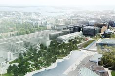 Proposed Biblioteca Central de Helsinki, Finland by MenoMenoPiu Architects