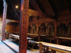 Lofotr Viking Museum: Inside the Longhouse.