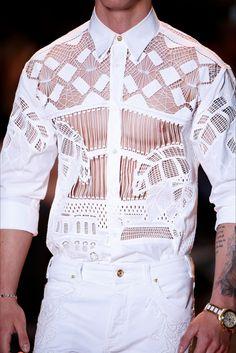 monsieurcouture: Versace S/S 2015 Menswear