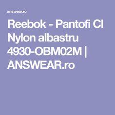 Reebok - Pantofi Cl Nylon albastru 4930-OBM02M | ANSWEAR.ro