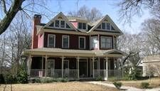 Plan 8262- it is called the Halliwell plan and it looks like the house from Charmed. I WANT IT!!!