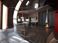 Купольный дом — это сфера, построенная из различных пород дерева со специальной защитной пропиткой