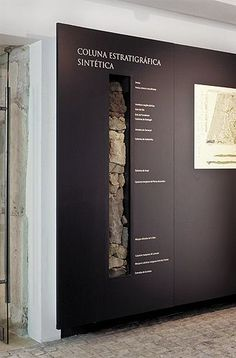 Possible pillar motifs - Câmara Municipal de Cantanhede (Stone Museum) - FBA Museum Exhibition Design, Exhibition Display, Exhibition Space, Design Museum, Exhibition Stands, Wayfinding Signage, Signage Design, Banner Design, Display Design