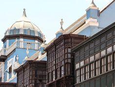 Lima, Peru #streetsigns #travel #wanderlust #southamerica #canon #colonial #architecture