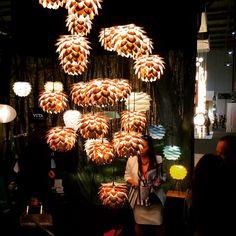 Incandescent pendant lighting from VITA. Almost unreal. Atrium, Lighting Design, Pendant Lighting, Parks, Space, City, Instagram, Light Design, Floor Space