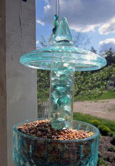 DIY Candy Jar Birdfeeder