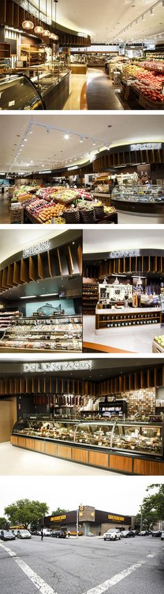 Breadberry supermarket by Input Creative Studio, Brooklyn – New York.