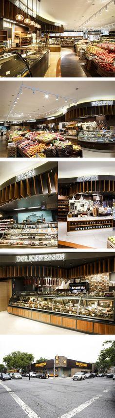 Breadberry supermarket by Input Creative Studio, Brooklyn – New York.