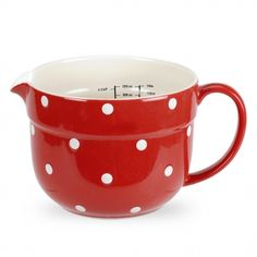 Kitchen + Red Polka Dots = Awesome.