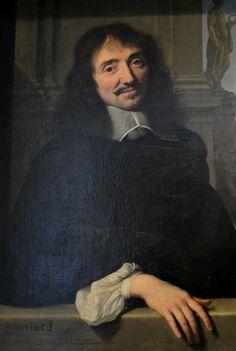 François Mansart, detail of a double portrait, by Philippe de Champaigne, Louvre, Paris