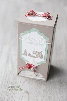 Abwarten und Tee trinken {Tutorial Tee-Adventskalender}   Kuchenduft & Kinderlachen