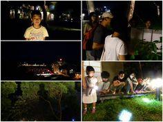 舊愛花蓮-親子教育生態慢遊: 夜觀松園 邱信文老師帶領大家一起參加松園的夜趴