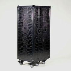 Black Croco Flightcase Multicase Black Croco Super stylisch