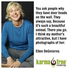 Ellen DeGeneres - VBW  KarmaFree Cooking