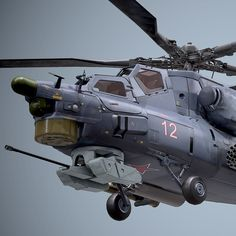 Game Ready Mi-28 Havoc, modeled in 3ds Max, Textured in Quixel Suite and Presented in Marmoset toolbag. The Total Vertex count was 145,000 Texture size for presentation was 6 4k textures sheets. This can be scaled down when used in Game Engine.