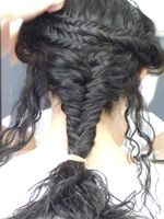 The Caryatid hairstyling project Kore A