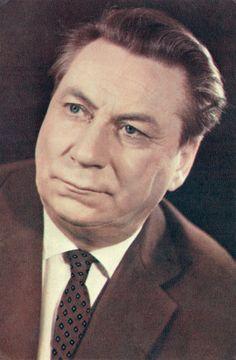 Soviet Actors Series Card  Vasily Merkyrev  by RussianSoulVintage, $2.00