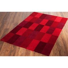 Buy Blocks Acrylic Rug 170x120cm - Red at Argos.co.uk, visit Argos.co.uk to shop online for Rugs and mats