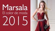 Vestidos de fiesta en marsala: ¡El color de moda este 2015! #vestidosdefiesta #marsala #marsalainspiration #moda #fashion #style #tendencias