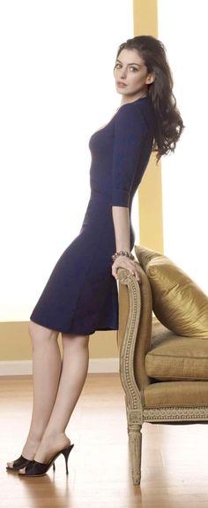 Anne Hathaway, (um perfil de tirar o fôlego)