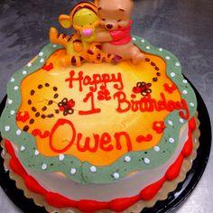 Winnie the pooh cake OWEN!