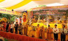 Cho thue nha bat khong gian và Lễ Khởi công tôn tạo chùa Quỳnh Lâm