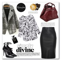 """""""Relaxfeel"""" by amra-mak ❤ liked on Polyvore featuring Relaxfeel, Melissa McCarthy Seven7, Tamara Mellon, Caroline De Marchi and plus size clothing"""
