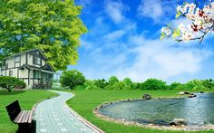 dream homes pictures   Free Nature wallpaper - Dream Homes 1 wallpaper - 1280x800 wallpaper ...