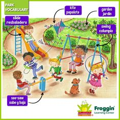 Park vocabulary www.froggin.com.mx