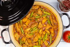 Suriname Food, Nice And Slow, Tasty, Yummy Food, Multicooker, Slow Food, Pot Roast, Paella, Vegetarian Recipes
