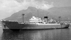 Rowallan Castle Merchant Navy, Steamboats, Cruise Ships, The Past, Castle, Ocean, Posters, Vintage, Art