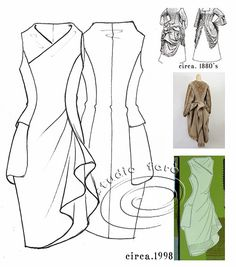 well-suited: Pattern Puzzle - The Pocket Drape ...<3 Deniz <3