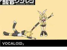 Vocaloid- Miku, Kaito, Luka, Rin, & Len Levan Polka - YouTube