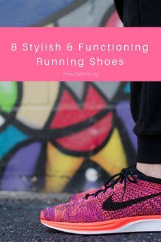 8 Stylish & Functioning Running Shoes || www.iGoPink.org