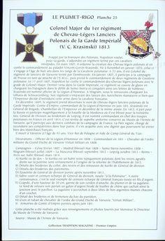 Colonnello comandante dei cavalleggeri polacchi della guardia imperiale francese