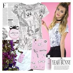 """YEAH BUNNY"" by gaby-mil ❤ liked on Polyvore featuring Nicki Minaj, Kate Spade, Bobbi Brown Cosmetics, Whiteley, iphone and case"