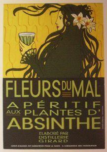 Les Fleurs du Mal aux plantes d'Absinthe bouteille 70cl 55° à_24_euro - Produits du terroir (2223046)