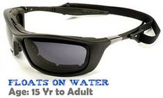 1153ddad47 Fuglies RX03 prescription wrap around sunglasses for water sports as they  float on water