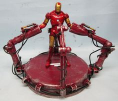 assemblage 1:18 scale iron man gantry by Valerobots on Etsy