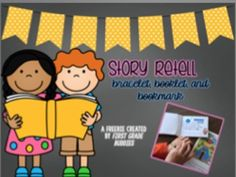 """FREE! Story Retell Bracelet, Booklet, and Bookmark {Reading Comprehension Tool}......Follow for Free """"too-neat-not-to-keep"""" teaching tools & other fun stuff :)"""