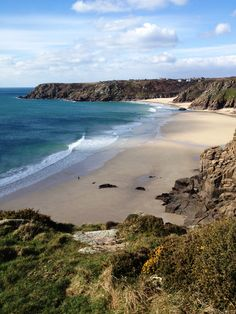 Cornwall: Porthcurno Beach