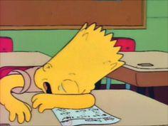 Bart: (crying) Who am I kidding? I really am a failure! Lisa Simpson, Baby Queen, Still Love Her, Sad Wallpaper, Sad Art, Saddest Songs, Tv Episodes, Futurama, Smoke Weed