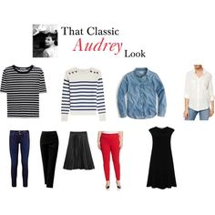 That Classic Audrey Look by bravestyle25 on Polyvore featuring Doris Streich, J.Crew, Closed, T By Alexander Wang, Sanctuary, Sans Souci and Marina Rinaldi