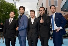 Pin for Later: British Stars Joined the Entourage in London Last Night Jerry Ferrara, Adrian Grenier, Kevin Connolly, Jeremy Piven, and Kevin Dillon