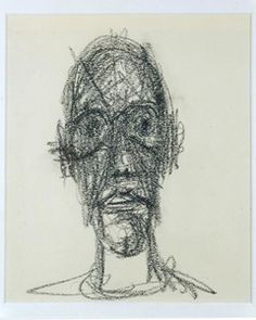 In his drawings and painting, Giacometti had the same theory or idea. Description from creativetotsmason.wordpress.com. I searched for this on bing.com/images