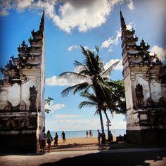 Coz your life takes me to paradise ❤ Kuta Beach, Bali